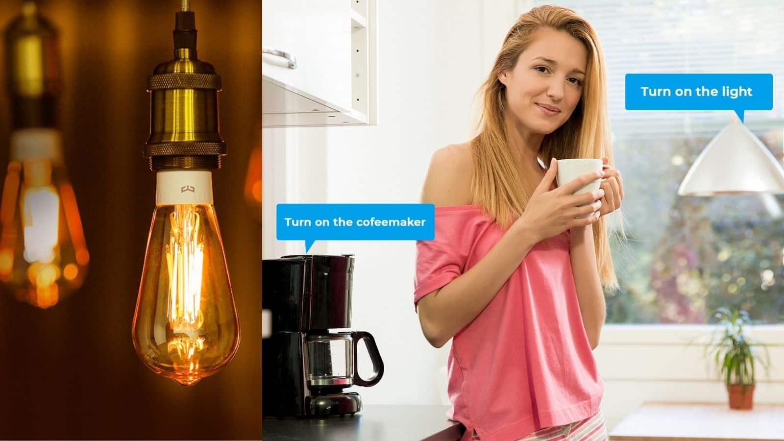 Smart Lighting slider